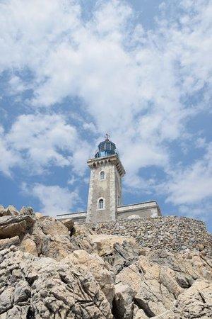 Porto Kagio, Greece: faro di capo tenaro