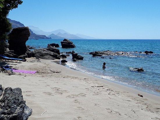 Rodakino, Greece: Paralia Polyrizos
