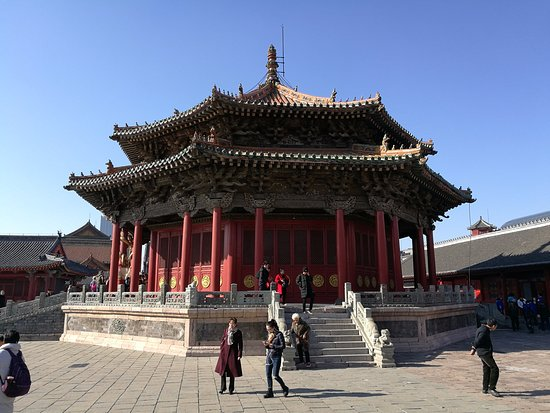 Shenyang Imperial Palace shot by Shenyang Private Tour