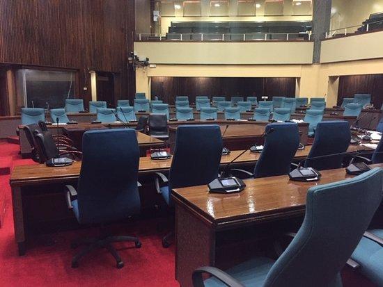 Lobamba, Eswatini (Swaziland): House of Parliament