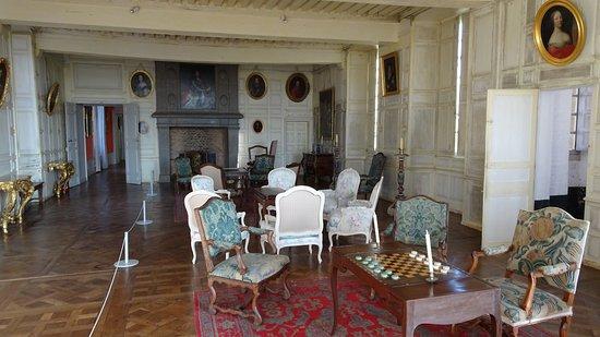Carrouges, Frankrike: La grande salle.
