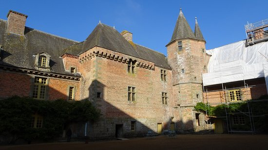 Carrouges, Frankrike: Le donjon.