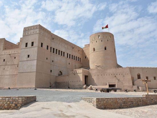 Ar Rustaq, Oman: Innenhof Fort Al Rustaq
