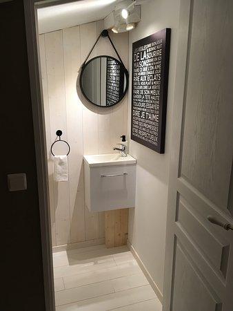 Saint-Malon-sur-Mel, France: WC indépendant.