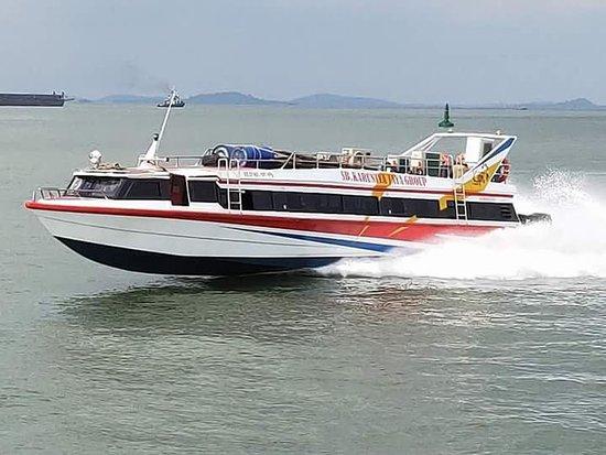 Padangbai, Indonesien: Karuniya Jaya Fast Boat