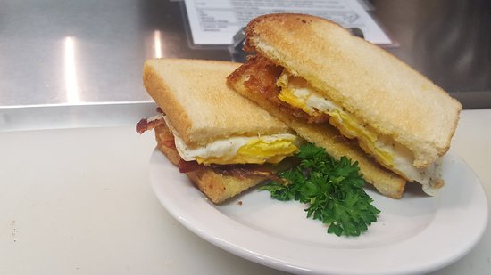 Middleton, ID: Bacon Egg and Cheese Breakfast Sandwich - your choice of bread