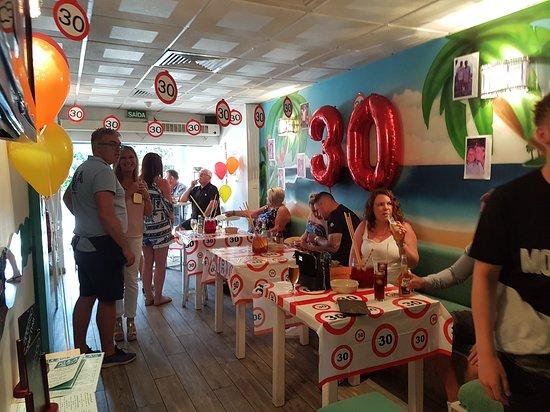 The Kula Bar: 30th birthday party