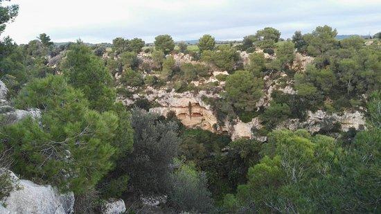 Villaggio rupestre di Petruscio