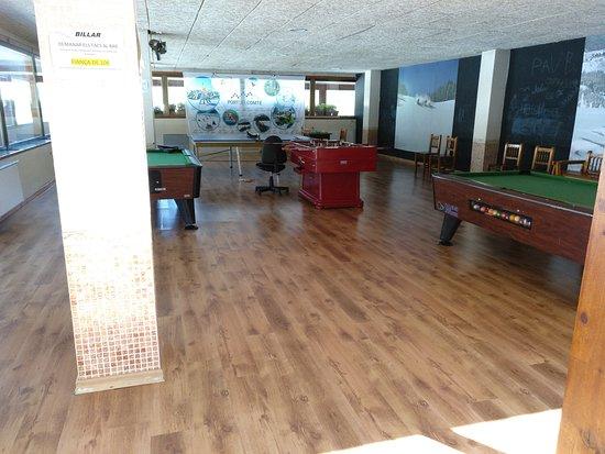 Hotel L'Avet: Zona de juegos.