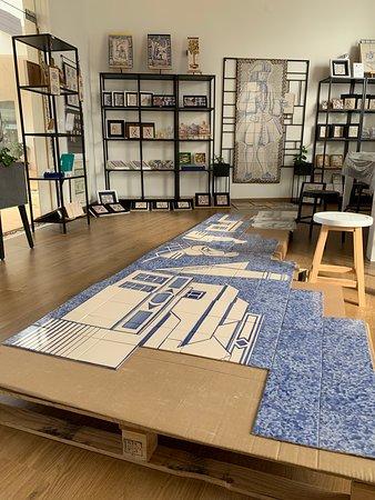 Ferragudo, Portugal: Atelier Arti Arte Azulejar