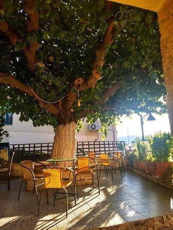 Crete Family Villas: Lunch at the taverna
