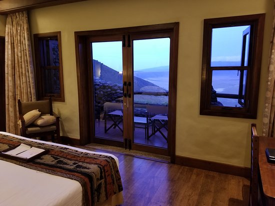 Adventure and Beyond: View of the Ngorongoro Crater from my room on the rim