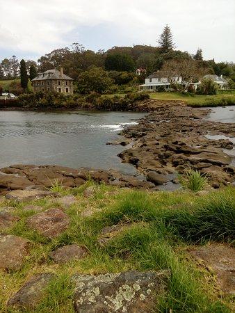 "Kerikeri, Nueva Zelanda: Kororipo ""Swirling waters"" as seen from Rewa's village"