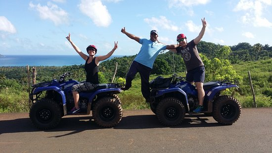 Santa Bárbara de Samaná, República Dominicana: ATV Tours Adventures,   Tauro Tours samana on vacation making your dreams come True.