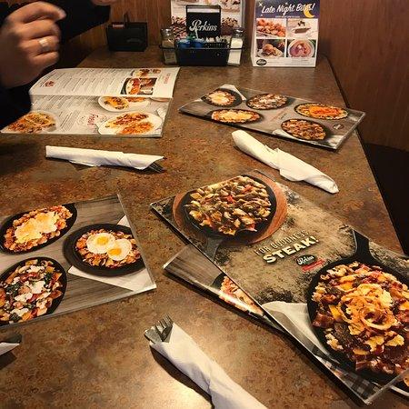 BERNADINE: Perkins restaurant hudson wi