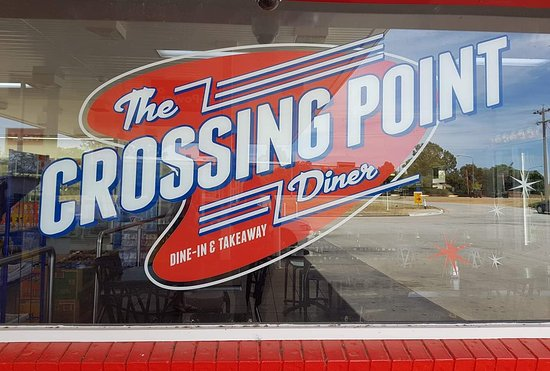 Lavington, Australia: Crossing point diner
