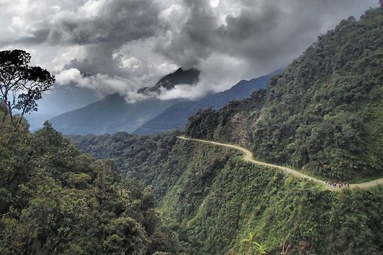 Death Road: Mountain Bike Tour on the...