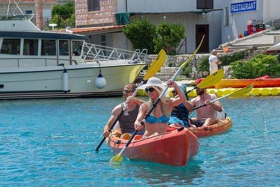 Excursion combinée avec kayak de mer...