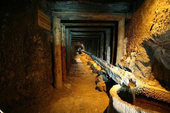 Miniera di sale del mattino a Wieliczka
