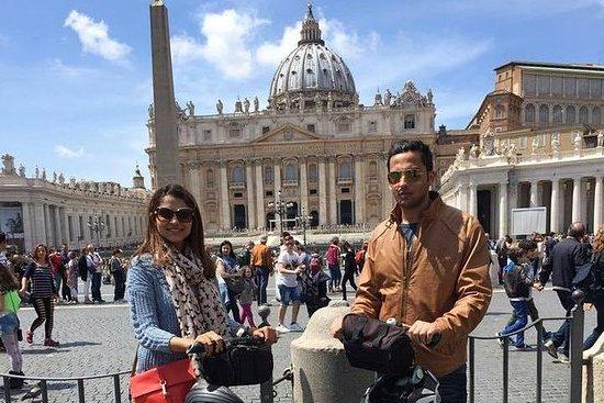 罗马教皇庆祝赛格威之旅