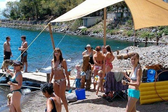 Journée de plaisir en famille au lac...