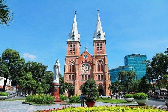 Recorrido por la ciudad de Saigón de...
