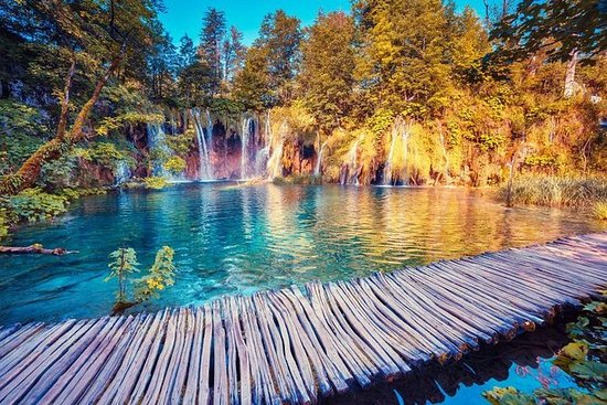 Plitvice Lakes and Rastoke Full-Day...