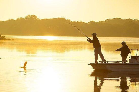 Excursión de pesca de las montañas...