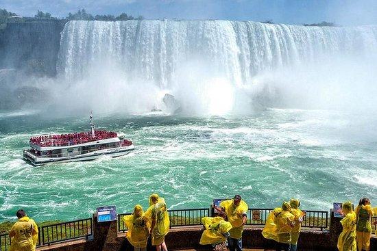 Niagara Falls Tour with Boat Cruise...