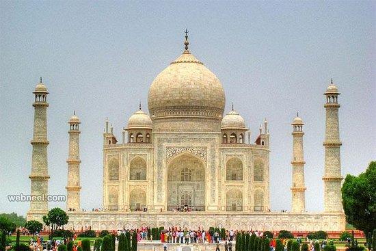 Taj Mahal Tour en coche