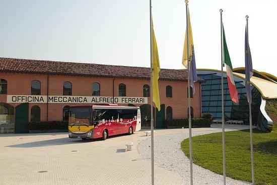 Découvrez Ferrari et Pavarotti Land...