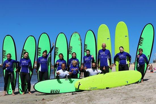 Dia de Surf no Porto Surf School 3h...