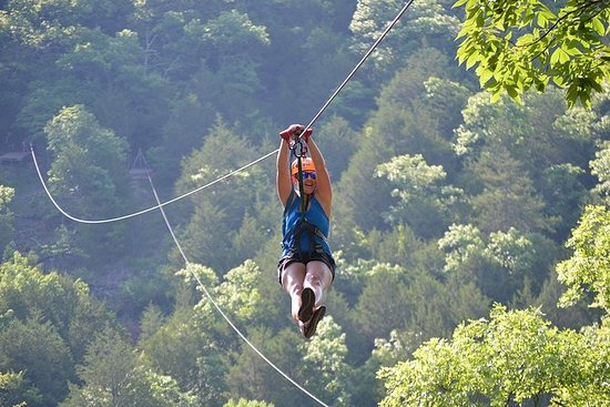 Zipline Tour in Branson