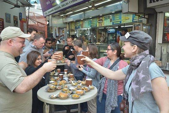 Caminhada de comida antiga Delhi