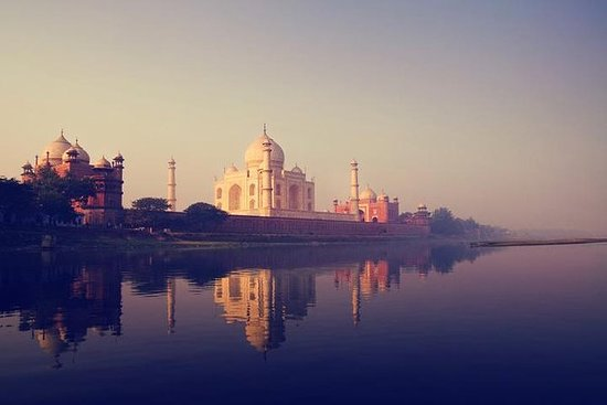 Private Taj Mahal Sunset With Boat...