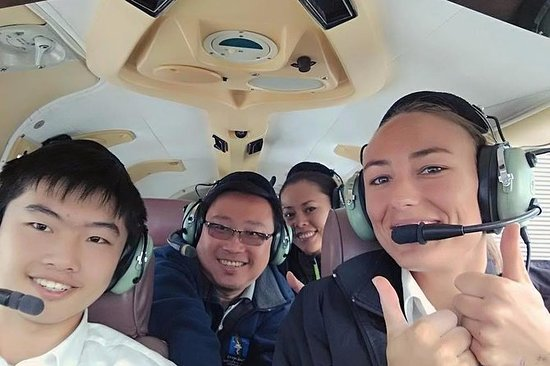 Scenic Flight from Nelson