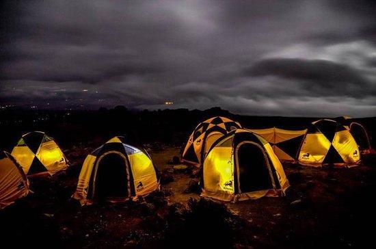 Kilimanjaro climb, Machame Route...