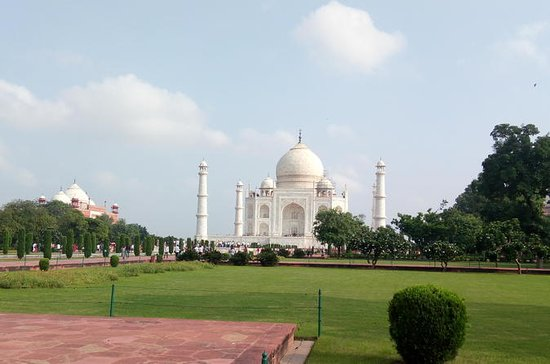 Excursão pelo mesmo dia no Taj Mahal de...