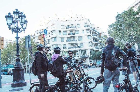 Itinerario di Gaudí con eBike