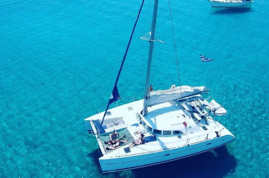 Catamaran Segling Yacht Day Cruise