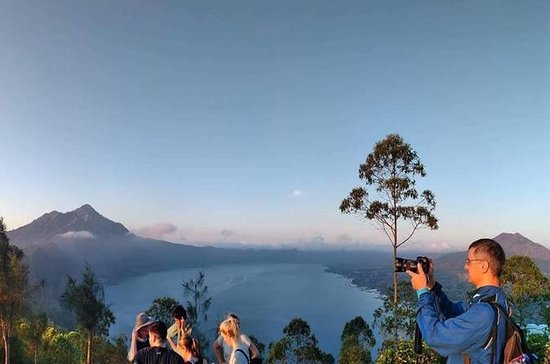 Bali Sunrise och Village Trekking Tour