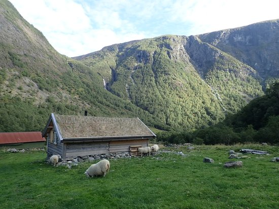 Муниципалитет Восс, Норвегия: Farm houses and cottages on the hike
