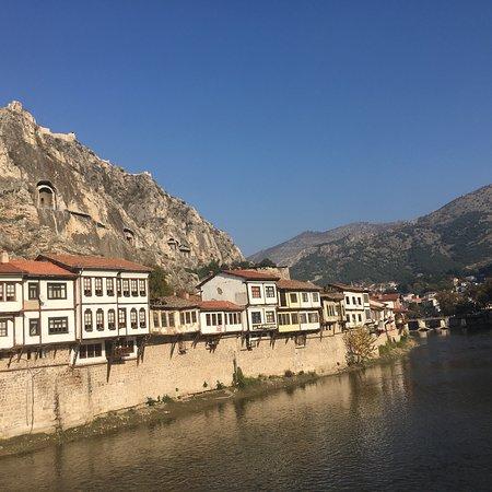 Amasya, Turkey: Miniatür müzesi ve nehir kenarı
