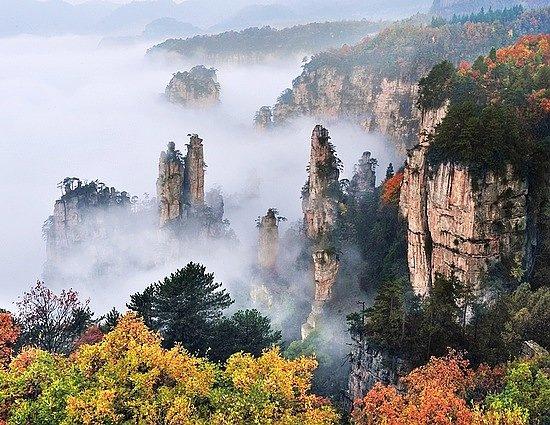 Foto Zhangjiajie