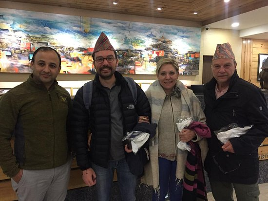 Luxury Tour for above 50 Years: Thank you Bhagwat Simkhada and all Himalayan Adventures Treks & Tours staff!
