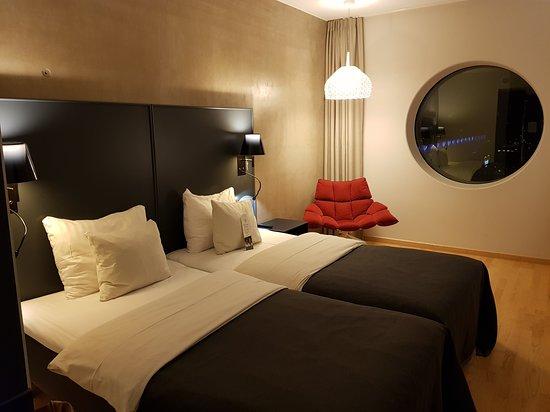 Quality Hotel Friends: Bild på hotellrummet
