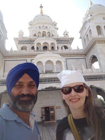 No templo sikh em Pushkar.