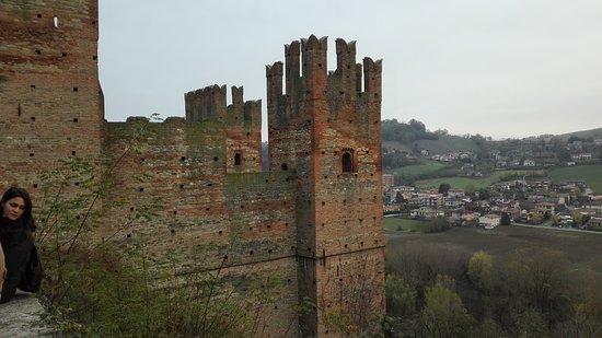 Borgo Castell'Arquato: panorama