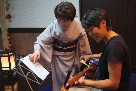 Shamisen Geiyukan: Mini-workshop of shamisen play after the live performance