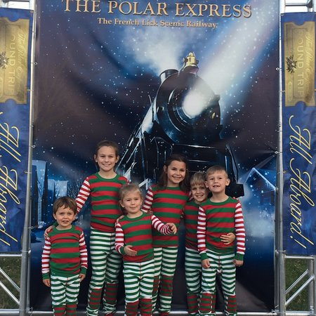 Thank for the polar express in french lick